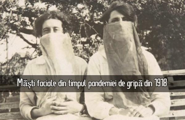 Masti pandemia de gripa 1918