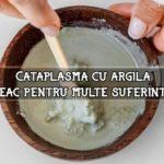 Cataplasma cu argila – leac pentru multe suferinte