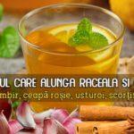 Ceai pentru raceala si gripa