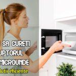 Cum sa cureti cuptorul cu microunde