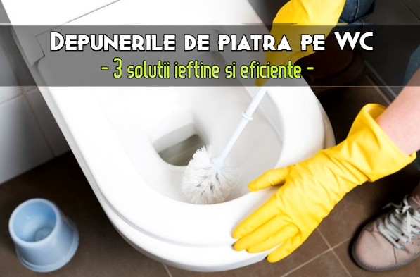 Depuneri de piatra WC solutii ieftine si eficiente