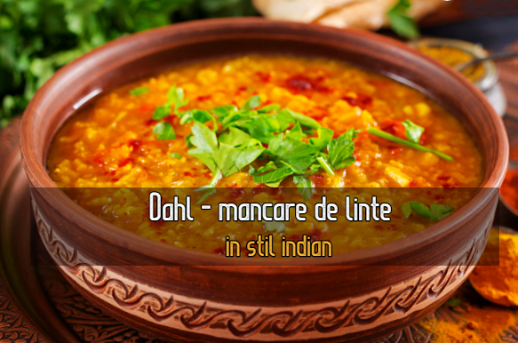 Mancare de linte in stil indian