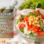 Salata de legume cu naut