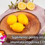 Suplimente pentru intarirea imunitatii impotriva COVID-19