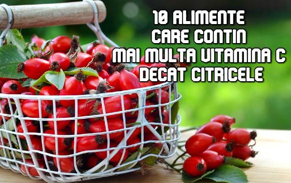 10 alimente care contin mai multa vitamina C decat citricele