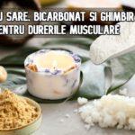 Bai cu sare, bicarbonat si ghimbir pentru durerile musculare