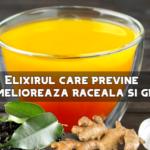 Elixir pentru prevenirea si ameliorarea gripei si racelii