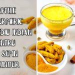 Laptele de turmeric - remediu indian pentru un somn odihnitor