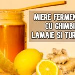 Miere fermentata cu ghimbir, lamaie si turmeric - pentru tuse si dureri în gat