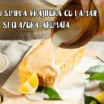 Prajitura cu lamaie si glazura aromata