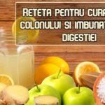 Reteta pentru curatarea colonului si imbunatatirea digestiei