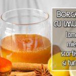 Reteta pentru imunitate cu lamaie, miere si turmeric