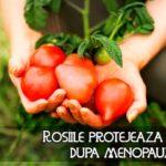 Rosiile protejeaza oasele dupa menopauza