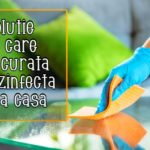 Solutie pentru dezinfectarea si curatarea casei