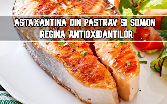 Astaxantina din pastrav si somon – regina antioxidantilor