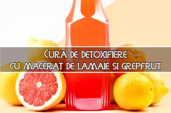 Cura de detoxifiere cu lamaie si grepfrut – reteta unui calugar grec