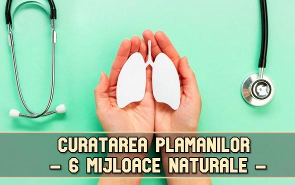 Curatarea plamanilor prin 6 mijloace naturale