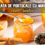 Dulceata de portocale reteta