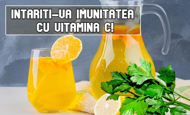 Intariti-va imunitatea cu vitamina C!