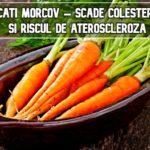Mancati morcov – scade colesterolul si riscul de ateroscleroza