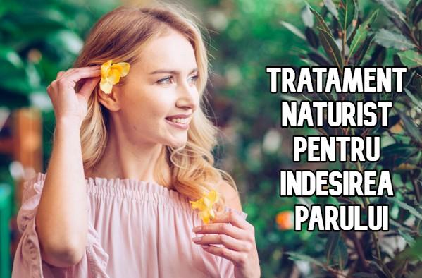 Tratament naturist pentru indesirea parului