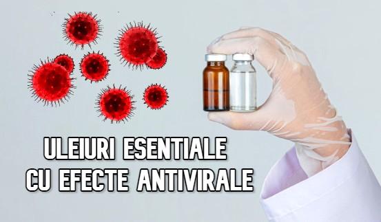 Uleiuri esentiale cu efecte antivirale