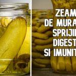 Zeama de muraturi ajuta digestia si imunitatea