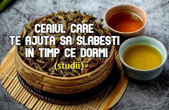 Ceaiul care te ajuta sa slabesti in timp ce dormi