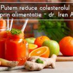 Putem reduce colesterolul doar prin alimentatie – dr. Iren Alexoi
