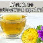 Reteta de ceai pentru usurarea expectoratiei