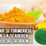 Spirulina și turmericul ajută la micșorarea nodulilor tiroidieni