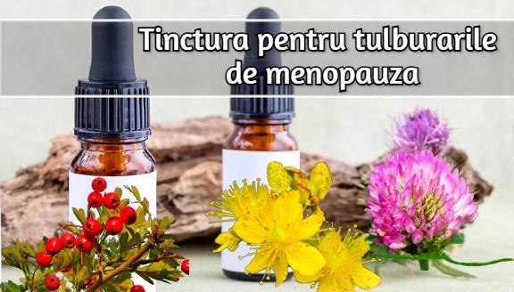 Tinctura pentru ameliorarea tulburarilor de menopauza