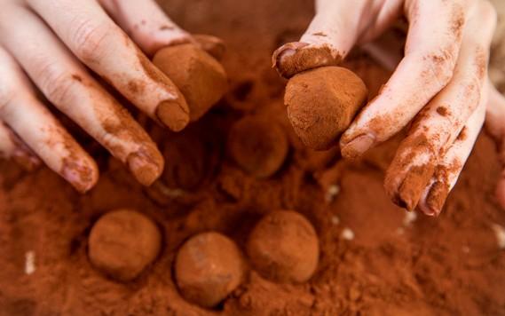 Trufe de ciocolata reteta