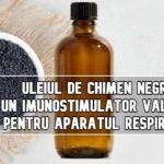 Uleiul de chimen negru – un imunostimulator valoros pentru aparatul respirator!