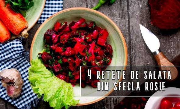 4 retete de salata din sfecla rosie