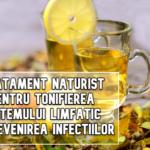 Tratament naturist pentru tonifierea sistemului limfatic si prevenirea infectiilor