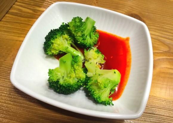 Broccoli cu sos de lămâie