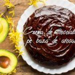 Crema de ciocolata pe baza de avocado