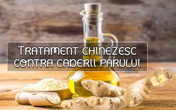 Tratament chinezesc contra caderii parului
