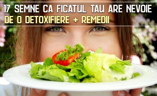 17 semne ca ficatul tau are nevoie de o detoxifiere + remedii