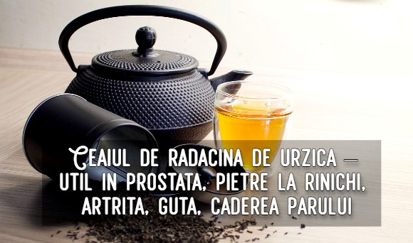 Ceaiul de radacina de urzica – util in prostata, pietre la rinichi, artrita