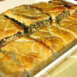 Hortopita, placinta cu verdeturi reteta greceasca