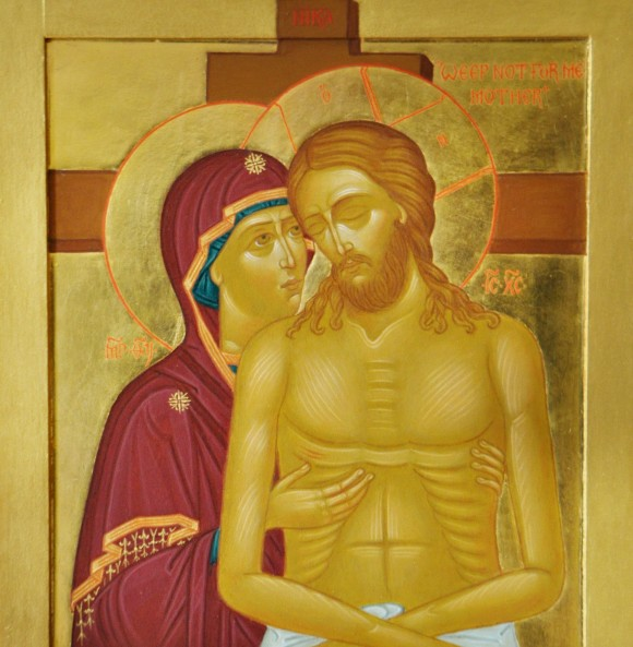 Rugaciune la crucea Domnului