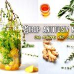 Sirop antitusiv natural cu miere