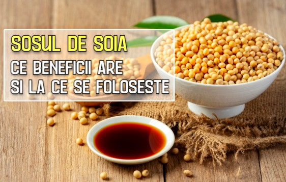 Sosul de soia - ce beneficii are si la ce se foloseste