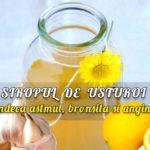 Sirop de usturoi pentru astm, bronsita, angina