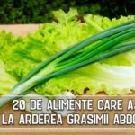 20 de alimente care ajuta la arderea grasimii abdominale