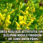 Drobita regleaza tiroidași elimina nodulii tiroidieni