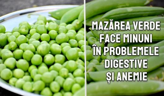 Mazarea verde face minuni in problemele de digestive si anemie