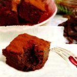 Prajitura fara faina din fasole rosie si ciocolata